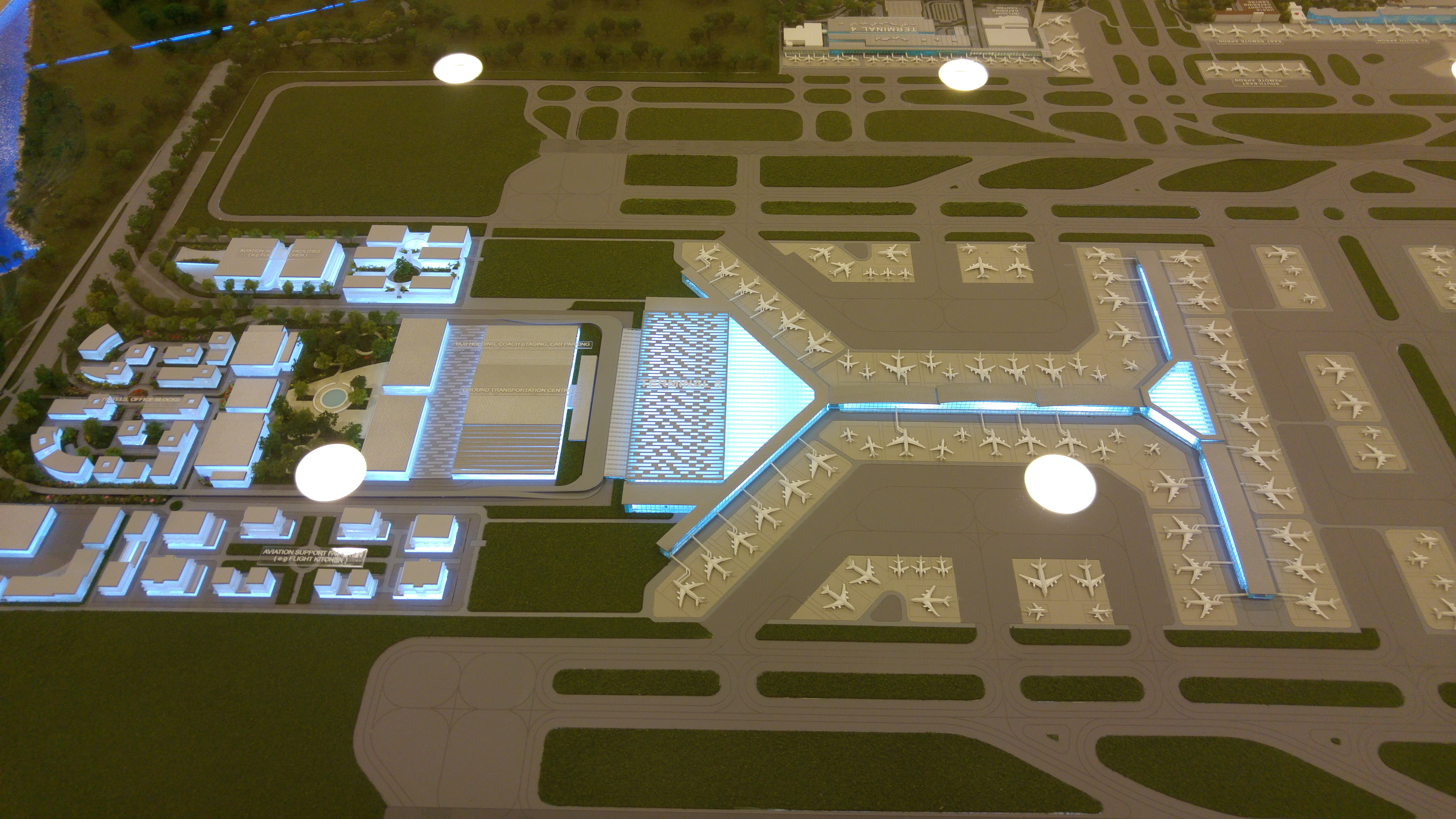 Changi airport t5 basic infrastructure design guide for Industrial design consultancy ltd